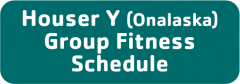 Onalaska Group Fitness Calendar