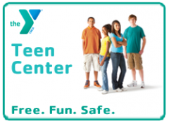 The YMCA Teen Center is free to all teens, 8th-12th grades